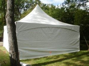 Party Tent Sides for 20