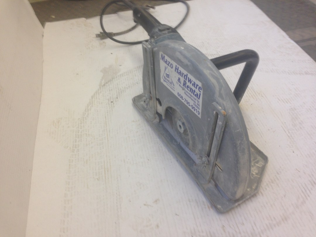 "Cut Off Saw 14"" Electric Image"