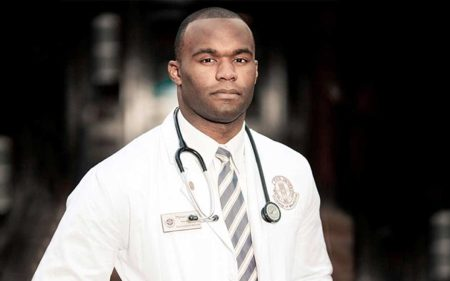 Former NFL Player Myron Rolle is Now a Doctor Fighting the Coronavirus Plague