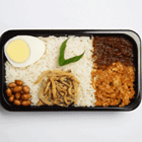 Pak Nasser's Nasi Lemak Seoul Food: AirAsia Menu & In-Flight Food Review Toronto Seoulcialite Airplane Food