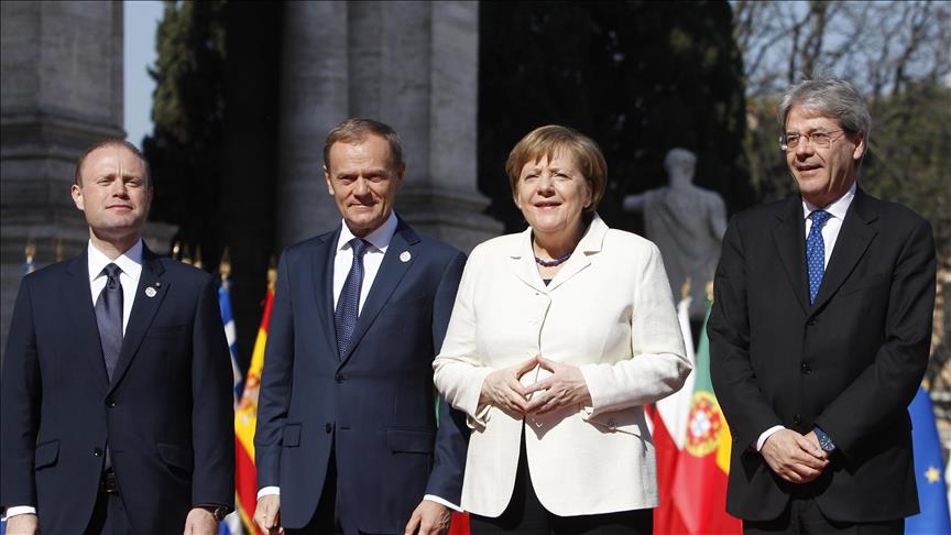 EU leaders celebrate 60th anniversary of Treaty of Rome