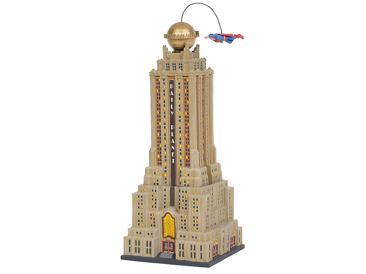 Daily Planet Enesco Village Model