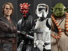 Star Wars: The Black Series Archive Collection Wave 2 Set of 4 Figures