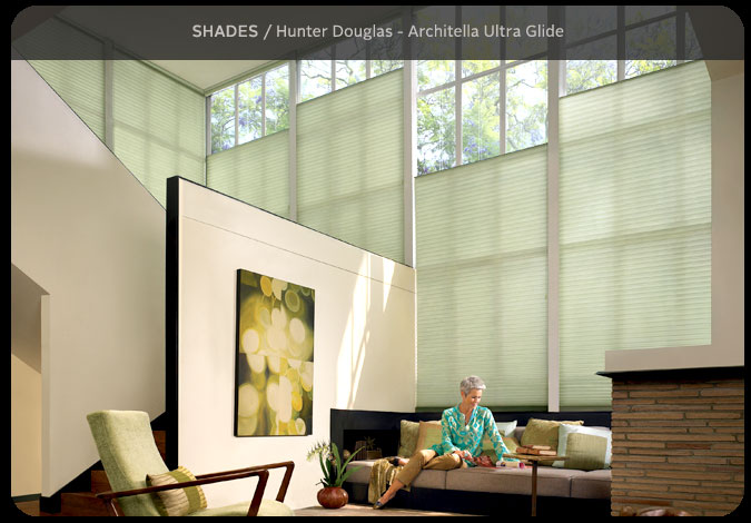 Transom Window Shades Under Window