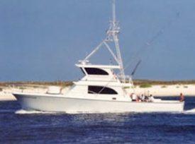 Sea Hunter charter boat luxury orange beach fishing charters