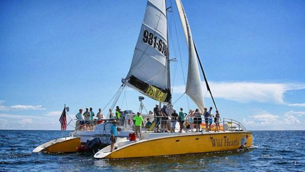 sailing Orange Beach & Gulf Shores AL beaches