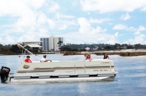 pontoon boat rentals alabama gulf coast