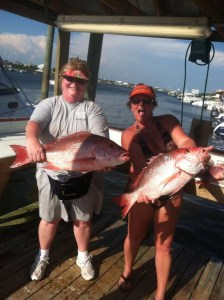 Orange beach al fishing charters deep sea fishing for red snappers until 7/14