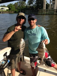 gulf shores inshore fishing charters in inland waters for sheepshead
