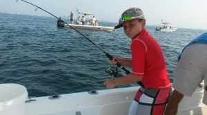 gulf shores al family friendly fishing charters trolling for spanish mackerel
