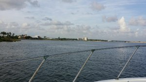 view from a private gulf shores sightseeing cruise