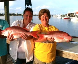 deep sea fishing for red snapper lady anglers along the Gulf Coast May 2015