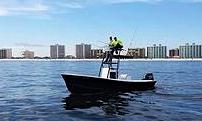 Gulf Coast Inshore Fishing Charter Boat