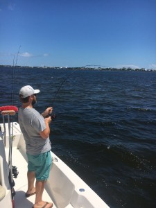Alabama Gulf Coast Inshore Fishing with Captain Jeffery Chambliss near Orange Beach AL