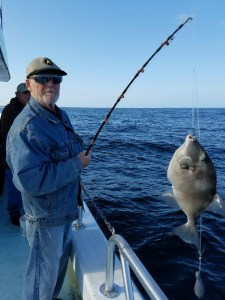 deep sea fishing off the AL Gulf Coast Dr Lamar Snow & triggerfish
