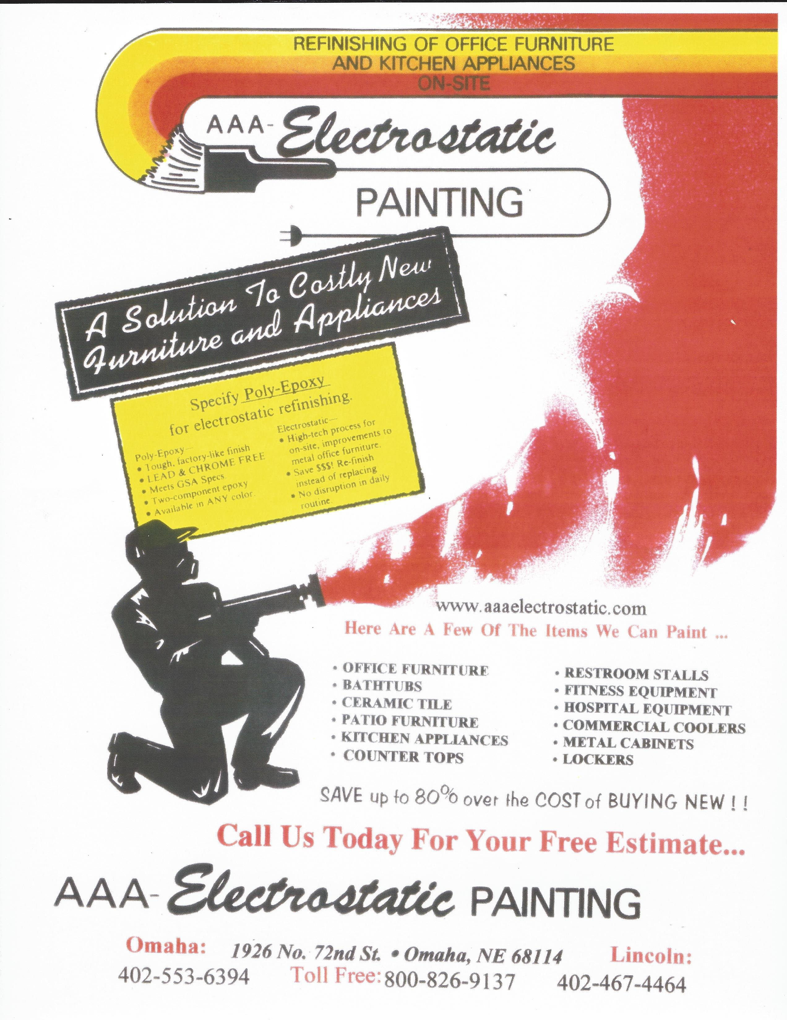 Our Flyers Lincoln Electrostatic Painting And Bathtub