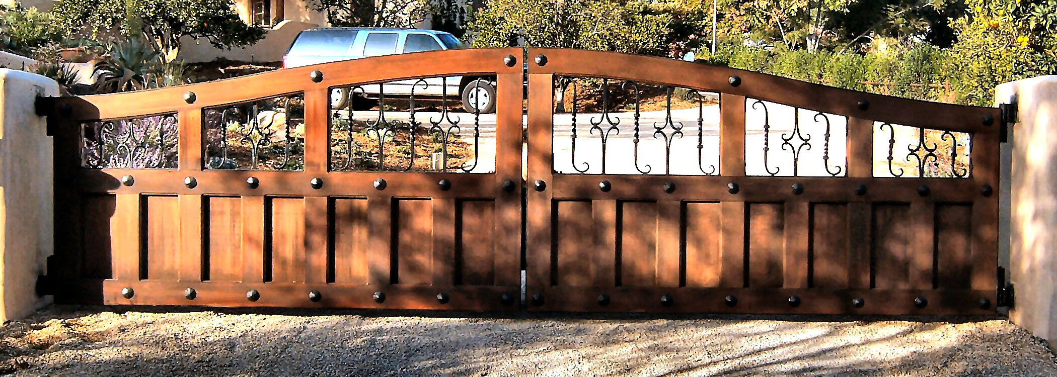 Gate Photos Wrought Iron Wood Amp Iron Gates Aaagate Com