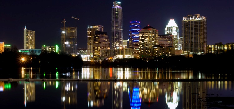 Indy Night Skyline