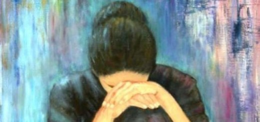 Grieving Woman