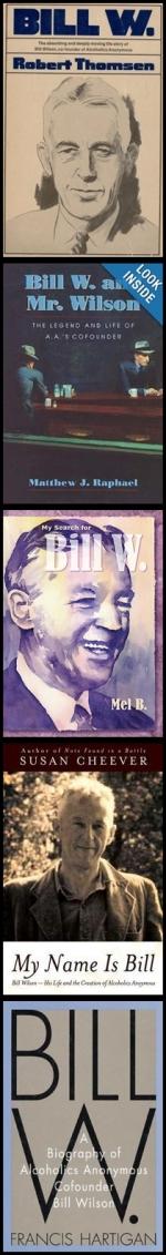 Bill W Books