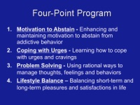 SMART Recovery Four Point Program