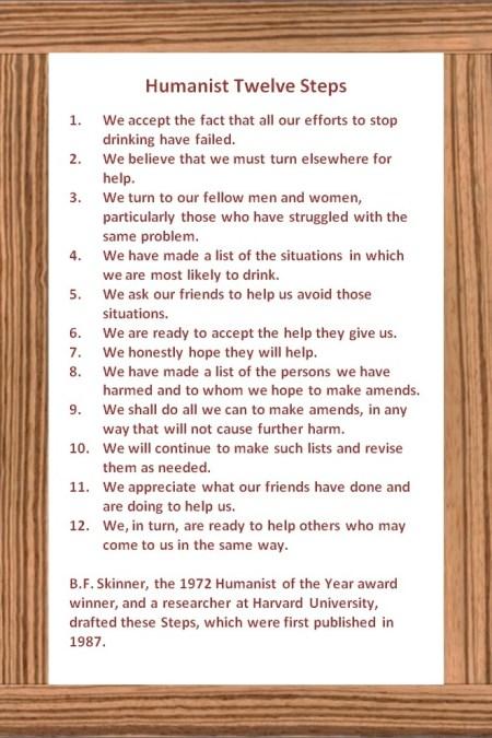 Humanist 12 Steps