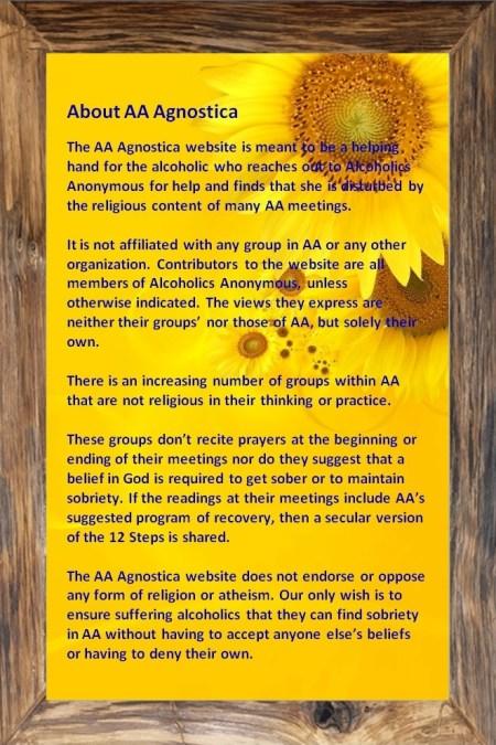 About AA Agnostica