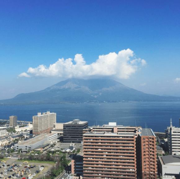桜島 鹿児島 泊まる airbnb 安い