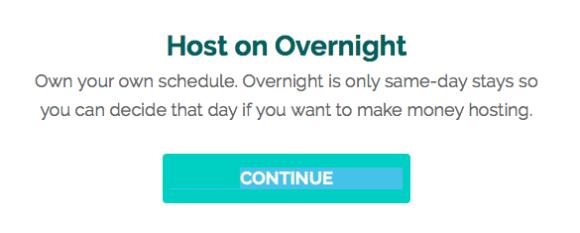 airbnb オーバーナイト