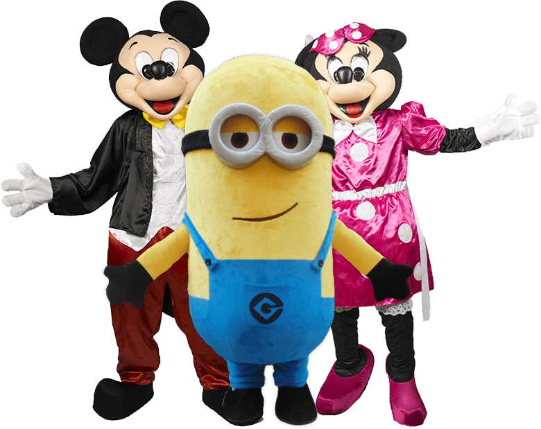 Images Of Live Cartoon Characters For Birthday Parties