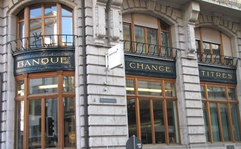 banque change titre
