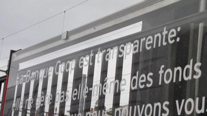 banque transparente