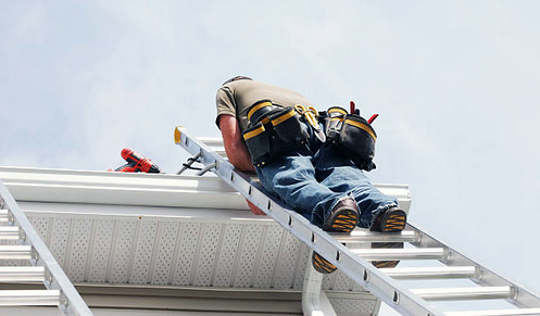 Maintaining Gutters on Buildings
