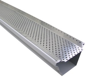 Aluminum Leaf Screens and Gutter Covers