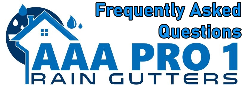 Rain Gutter FAQ - Frequently Asked Questions and Answers