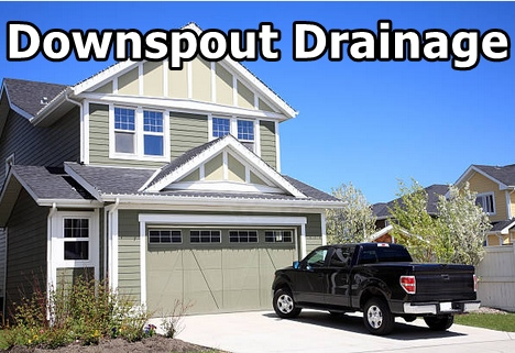 downspout drainage system