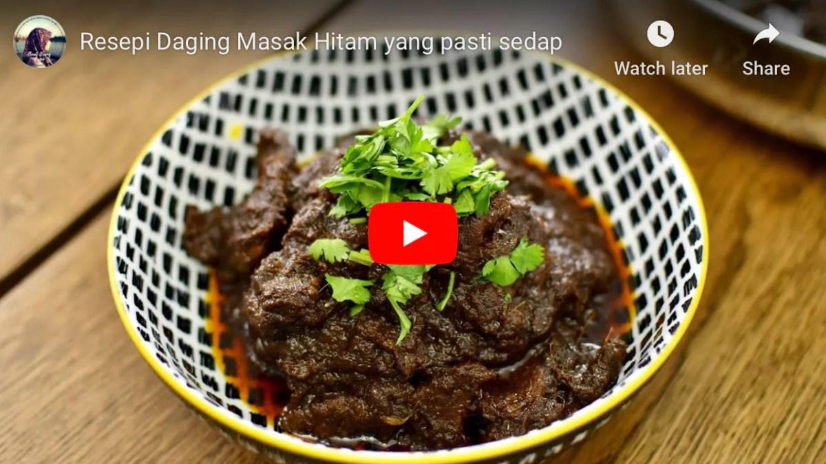 resepi daging masak hitam nasi minyak resepi nasi minyak mudah cepat rasa macam nasi minyak Resepi Nasi Kandar Kuning Enak dan Mudah