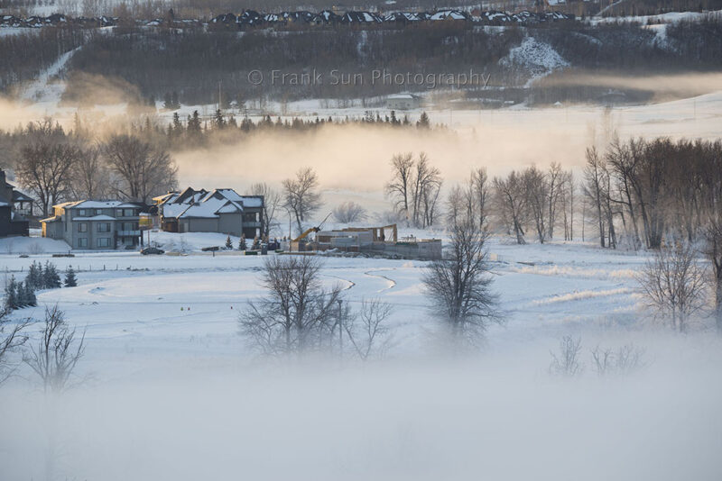 winter of bow river