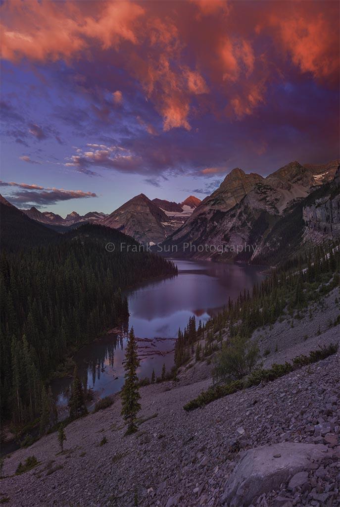 Acupuncture Massage blog Sunrise at Upper Elk Lake
