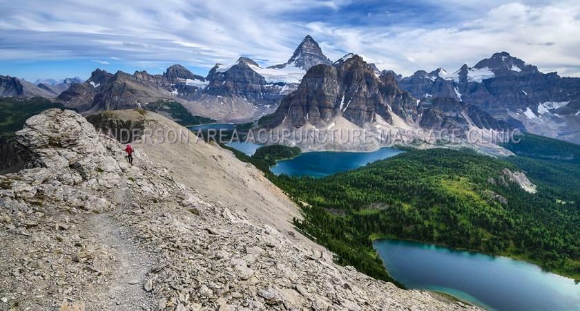 calgary acupuncture blog hiking to nub peak