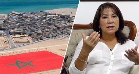 الرئيسة السابقة للكونغرس البيروفي : قضية الصحراء المغربية قضية وحدة ترابية