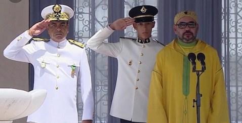 تطوان: الملك محمد السادس يترأس حفل أداء القسم