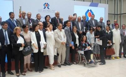 استقبال الأعضاء الجدد للمجلس الوطني لحقوق الإنسان
