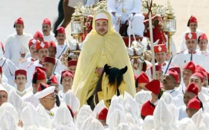 الملك محمد السادس يترأس حفل الولاء