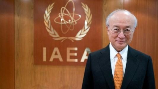 لمدير العام للوكالة الدولية للطاقة الذرية يوكيا أمانو