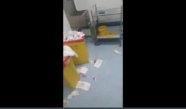 مشاهد كارثية من داخل مستشفى مولاي عبد الله الجديد بسلا