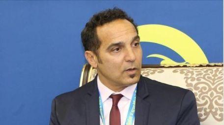 بطل التنس المغربي كريم العلمي