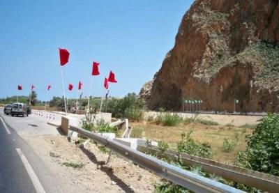 الحدود المغربية الجزائرية