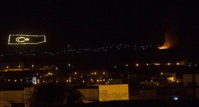 """انفجارات تهز قاعدة عسكرية بـ""""قبرص التركية"""""""