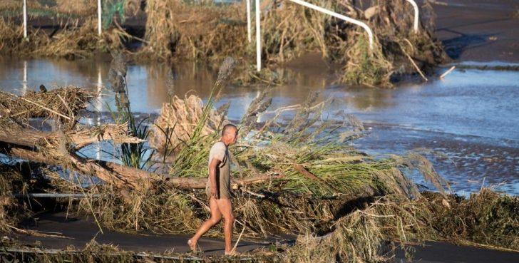 ارتفاع قتلى إعصار اليابان